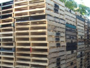 Used 2 Tonne Standard Pallets ready for dispatch in Sydney